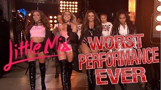 Little Mix - Worst Performance Ever - Shout Out To My Ex - SHREDS