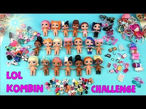 LOL Confetti Pop Sürpriz Bebek Kombin Challenge Big Sister Ödüllü Eğlenceli Videolar Bidünya Oyuncak