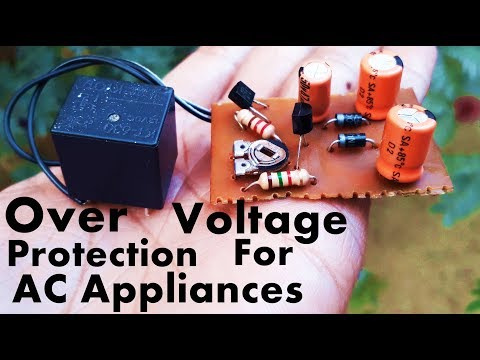 Overvoltage Protection Circuit For AC Appliances | AC Over Voltage Protection Circuit