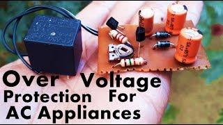 Overvoltage Protection Circuit Voor de AC-Appliances | AC Over Voltage Protection Circuit