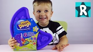 ★ Кинетический Песок Цветной с Формочками Распаковка Unpacking Kinetic color sand