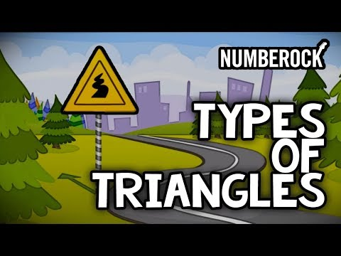 Types Of Triangles Song - Online Education Songs For Kids