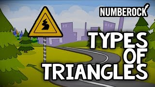 Triangle Song: Types of Triangles For Kids Video