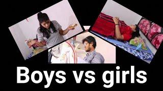 Hostel Girls vs Hostel Boys || Funny video