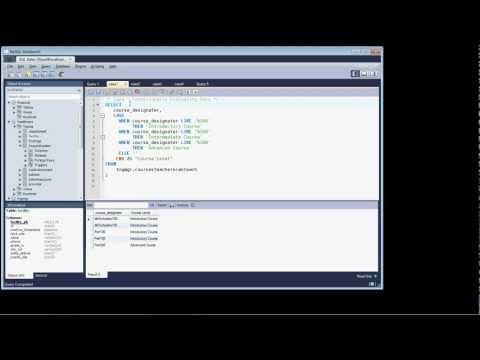 MySQL Querying Data - Lesson 6 - Case Logic