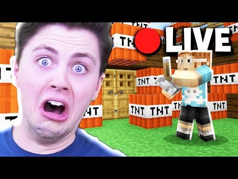 BLOWING UP THE PALS HOUSE! | CrazyCraft Epsiode 1
