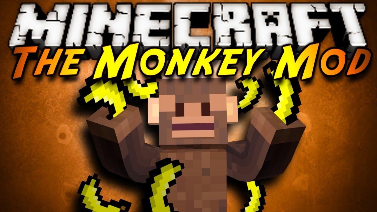 Minecraft mod showcase the monkey mod youtube