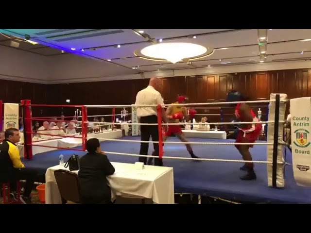 2018 County Antrim Belfast Boxing Classic - Fight 5