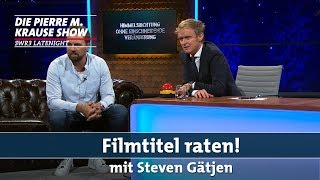 Filmtitel raten mit Steven Gätjen