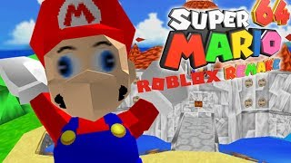 Super Mario 64 REMAKE in ROBLOX! | Roblox Adventures - Roblox Gameplay