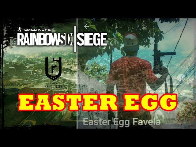 Rainbow Six Siege - Easter Egg Whats App do Traficante