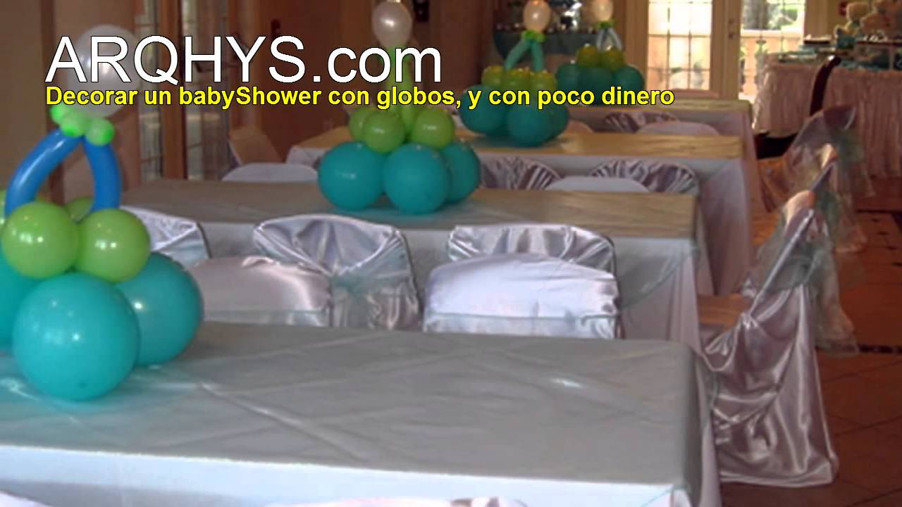 Decoracion De Baby Shower Econmico Ideas Para Decorar Con Poco