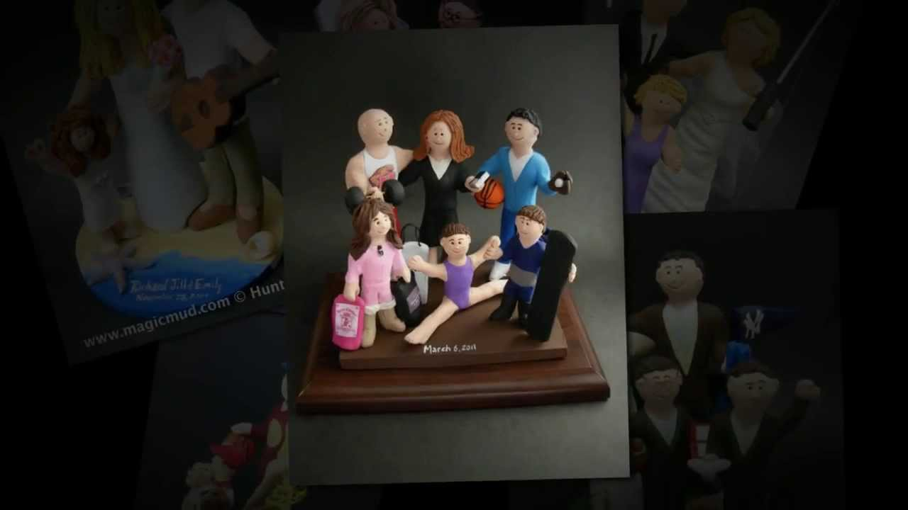 Blended Family Wedding Cake Topper By Magicmud Com
