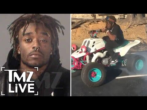 LIL UZI VERT Arrested After Dirt Bike Police Chase |  TMZ Live