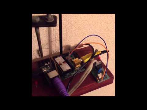 こどもパソコンichigojamでモーターのオンオフ回転数制御の実験