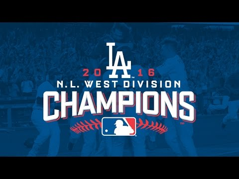 Los Angeles Dodgers 2016 Highlights
