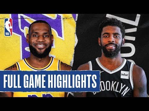 LAKERS at NETS | FULL GAME HIGHLIGHTS | January 23, 2020