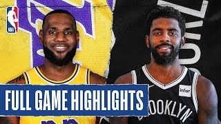 Download LAKERS at NETS | FULL GAME HIGHLIGHTS | January 23, 2020 Mp3 and Videos