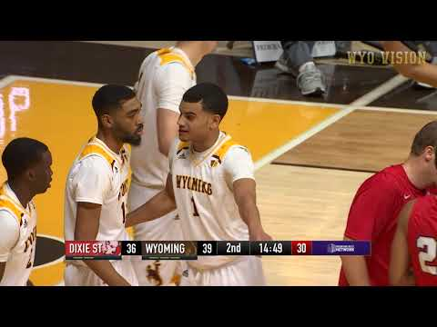 Wyoming MBB Highlights vs Dixie State (12-29-18)