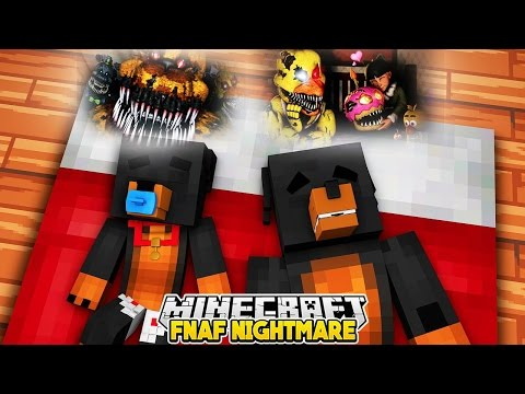 Minecraft Nightmare - FREDDY, BONNIE & CHICA TAKE OVER DONUTS HOUSE - Little Club Baby Max Roleplay