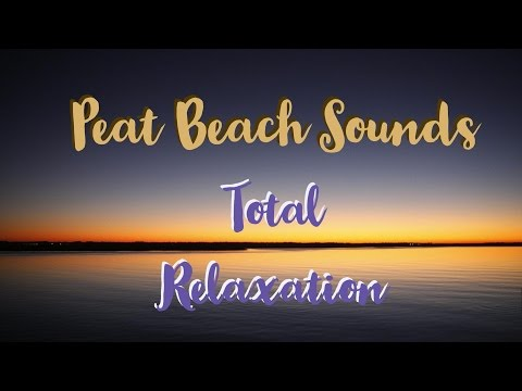 Natural Remedy of Peat Beach Sound for Relaxation