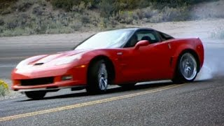 USA Muscle Car Road Trip: Mountain Pass (HQ) | Top Gear | BBC