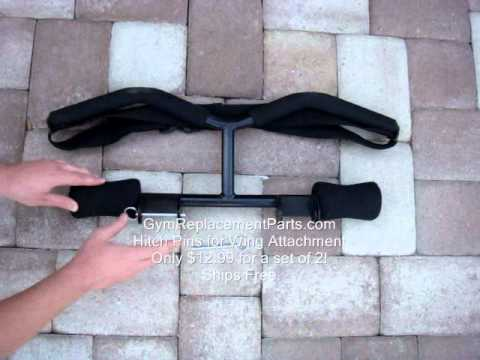 Total Gym WingBar for XLS 2000 3000 with Pins
