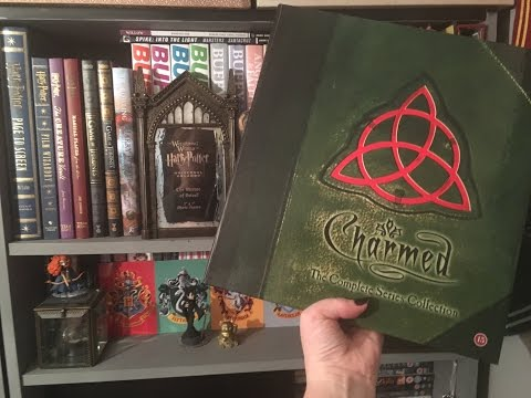 A Charmed Book of Shadows with a twist and a TruBlood drink...