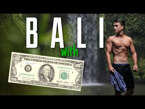 How Much Will $100 In BALI Get You ? LIVING IN BALI
