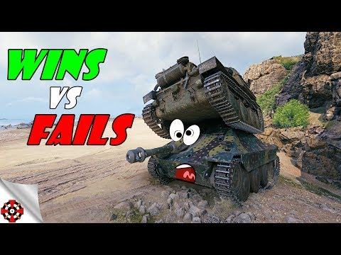 World of Tanks - Funny Moments | WINS vs FAILS! (WoT, October 2018)