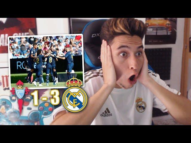 REACCIONANDO AL PRIMER PARTIDO DE LIGA Celta vs Real Madrid 1-3 *GOLAZO DE KROOS*