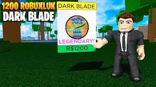 💥 1200 Robuxluk Dark Blade! 💥   Blox Piece   Roblox Türkçe
