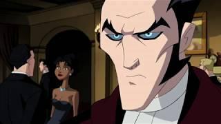Граф Дракула в поместье Брюса Уэйна(Бэтмена )