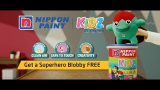 Nippon Paint KIDZ All-In-One Paint TVC