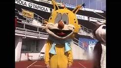 Nyt.fi: Urheilumaskottien kilpajuoksu Olympiastadionilla