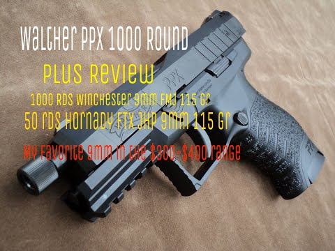 Walther Ppx 1000 Plus Round Review 1000 Rds Winchester 9mm Fmj 50