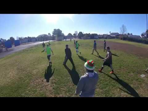 Full Game 12-24-16 Santa Barbara Pick-Up Soccer