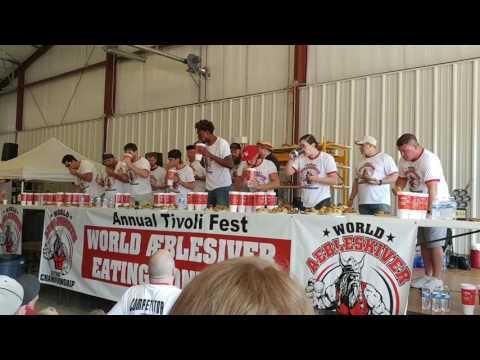 World Aebleskiver Eating Contest (Matt Stonie World record)