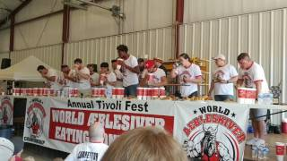 oyster eating contest