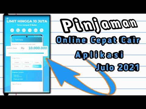 Pinjaman Online Cepat Cair Aplikasi Julo 2021