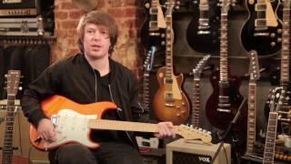 """Гитарное оборудование альбома """"Морская"""": Fender Stratocaster"""