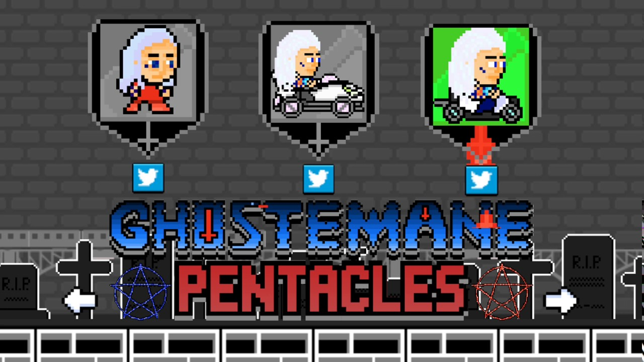 Ghostemane Pentacles Exclusive Mobile Game By Rapsmyinitials - ghostemane my hear of glass roblox id code how do you get
