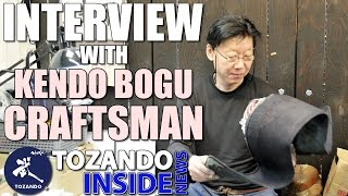Interview with Kendo Bogu Craftsman - Bogu Repair - New Bogu Tokuren Z - Tozando Inside News #10