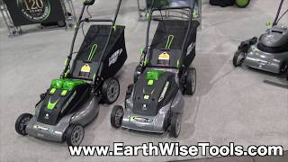 Earthwise Cordless 40 Volt Lithium Ion Powered Lawn Mowers | Weekend Handy Woman