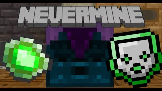 Minecraft Nevermine 2.0 UPDATE! Ep.3-INFUSION ENCHANTING!
