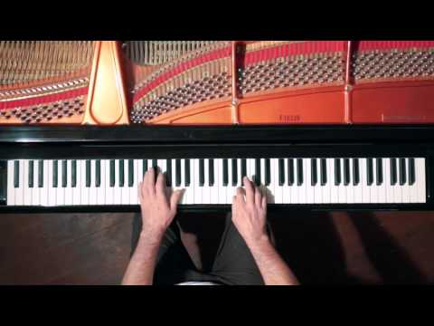 Bach 2 Part Invention No.2 (slow tempo) P. Barton, FEURICH Harmonic Pedal piano