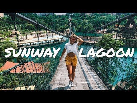 SUNWAY LAGOON WATER PARK KUALA LUMPUR MALAYSIA - PART ONE