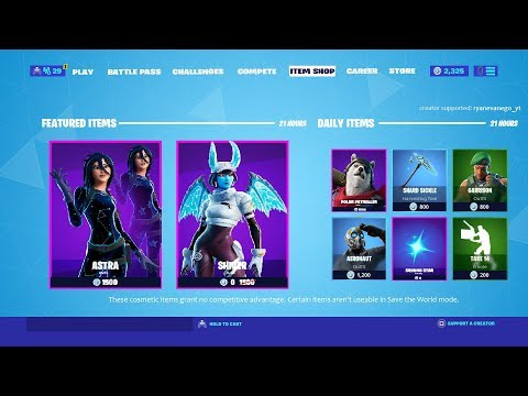 NEW Fortnite ITEM SHOP RIGHT NOW LIVE! December 26th! - Fortnite Battle Royale from YouTube · Duration:  1 hour 22 minutes 2 seconds
