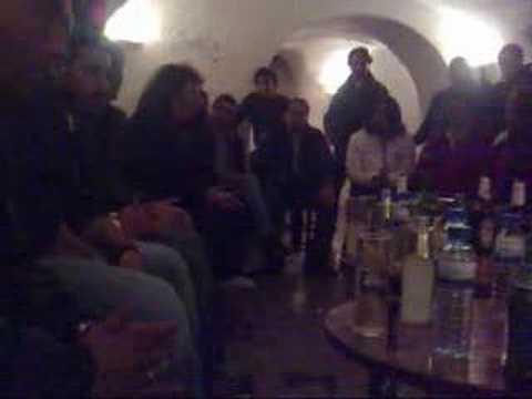 Diego el cigala Antonio ingueta Miguel rubio en el candela