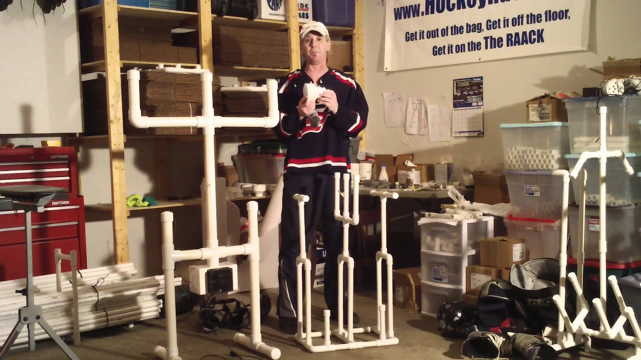 The Ultimate Hockey Rack Youtube